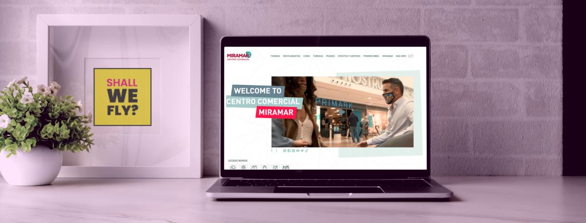 desarrollo web centro comercial miramar
